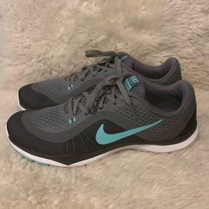 Nike Shoes - Nike Training Flex TR 6 Blue / Gray Tennis Shoes